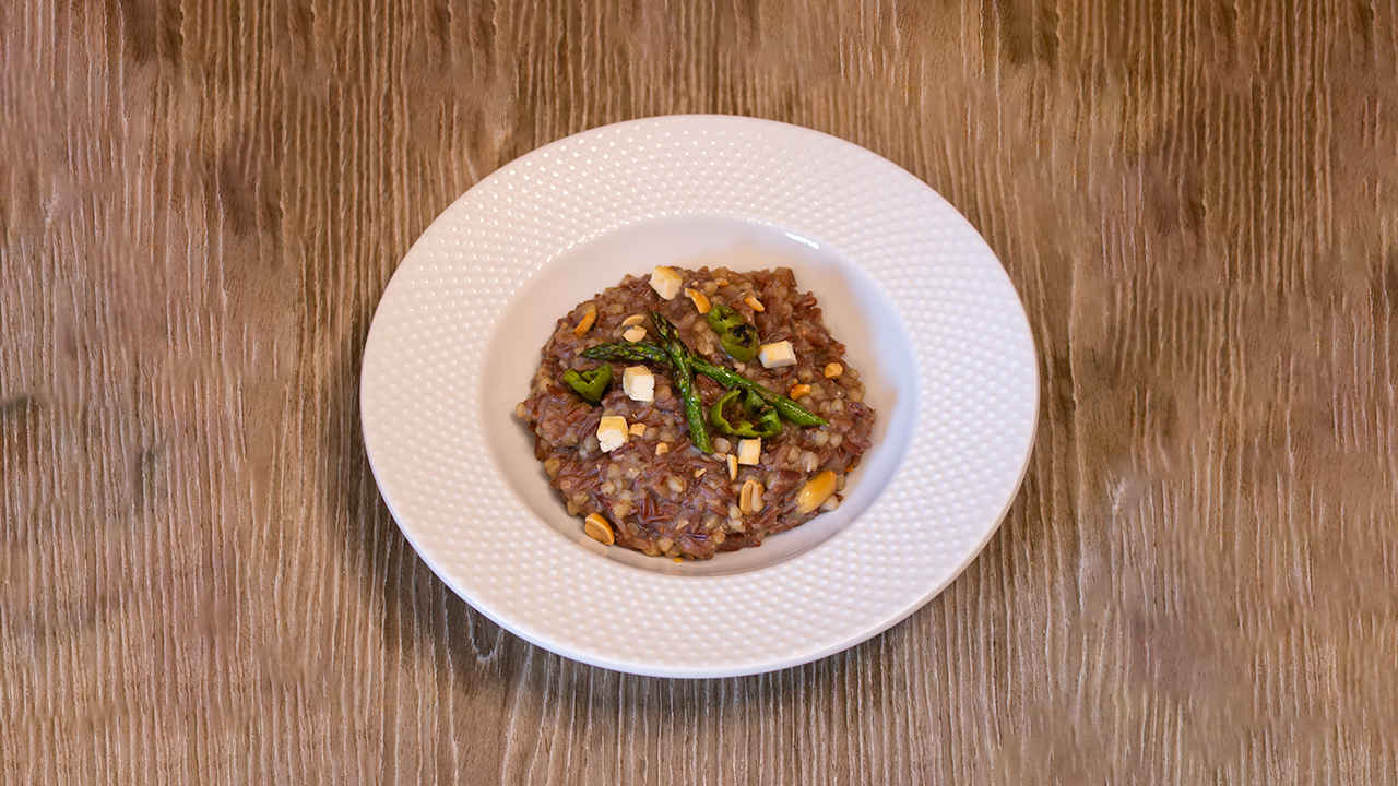 Risotto tres cereales